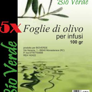 foglie di olivo per infusi