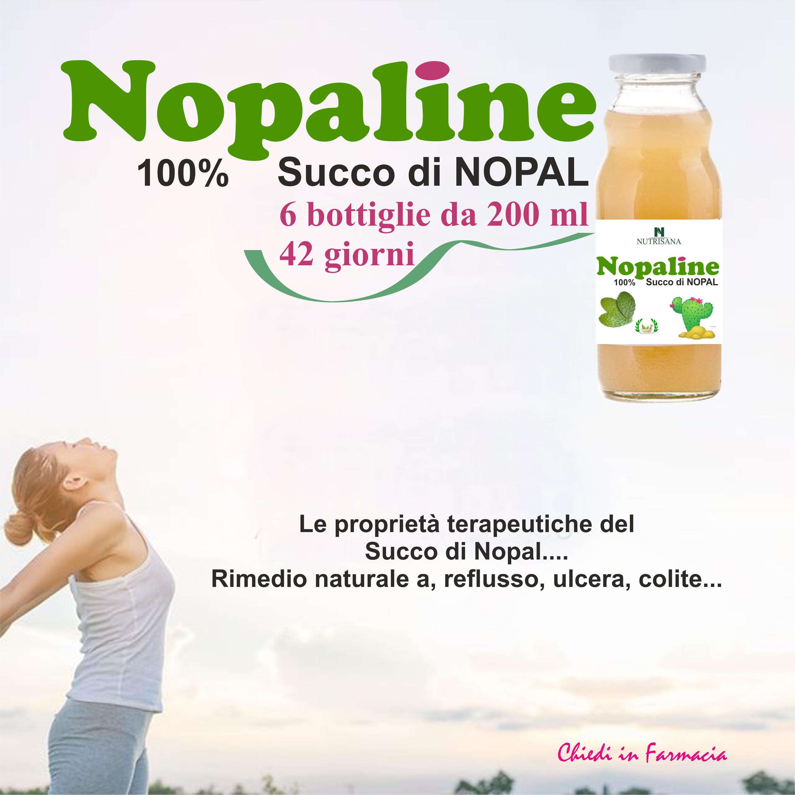 Nopaline - succo di Nopal 100% naturale - Bioverde..